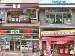 24/24 convenient stores ( 1-5 minutes walk )
