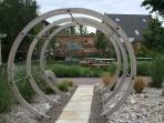 The Sensory Garden, well worth a visit