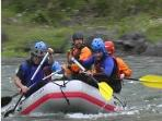 whitewater rafting is best April-June