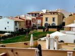 The neighbourhood from terrace