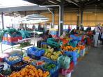 Paphos old town Fruit Market
