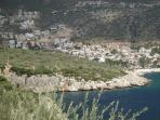 View of Kalkan Harbour from lower road