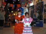Enjoying the fun at a fiesta in Alicante