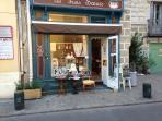 Great finds at Les Trois Soeurs, just around the corner from the apartment.