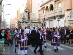 Easter parade in Roquetas de Mar