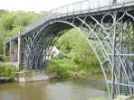 The Beautiful Ironbridge - just 2 miles away.