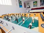Table football, PS4, Darts and 6ft Pool Table