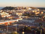 Puerto de Mazarron - Central area and Light house