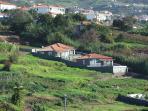 View off 3 houses Paraiso das Flores