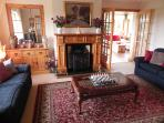 Smaller Lounge overlooking the croft