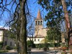 The spire of Chiasa San Francesco