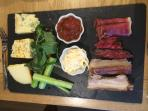 Ploughmans delivered to your door from The Blacksmiths Arms...