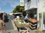 Gemozac market day
