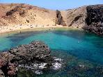 Papagayo's Beaches within walking distance
