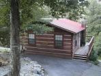 Blue Spruce, a cozy honeymoon style cabin