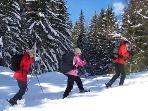 Snowshoeing Chamonix