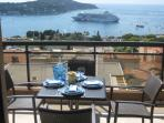 Large Terrace with Outdoor Dining Table