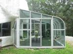 Outside picture of the solarium
