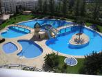 Pool - Large tropical and 2 smaller toddler/baby pools