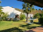 Villa and gardens. Idyllic surroundings for the perfect holiday.