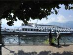 Guests can take a boat trip and explore the breathtaking sights of Lake Maggiore