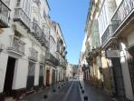 Una calle señorial donde las haya