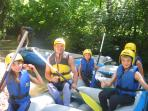 Rafting on the nearby River Nera makes a great day out