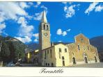 The village of Ferentillo is a 5 minute drive away