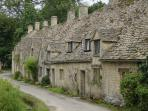 Visit nearby Bibury (or The Slaughters, Burford, Bourton-on-the-Water, Chipping Campden etc)