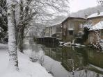 Civray in the snow