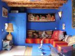 Salon marocain dans le jardin