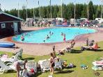 Pool view 'Vita sannar'