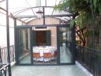 the veranda from the terrazza