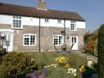 Corner Cottage with Front Garden & Secure Garage