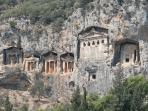 Lycian Rock Tombs at Caunos