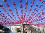 Annual Fete Cantonale (4th Sunday in July) at local town, Villefranche de Lonchat