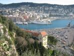 The Port of Nice a short walk away offering great boat rides, even day trips along the coast