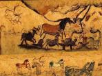 Ancient Cave Paintings at Lascaux nearby