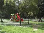 A public garden closeby
