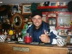 Private bar on Collanmore Island, Keith Duffy