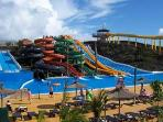 Baku water park in Corralejo