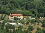 Marreco House - Aerial View
