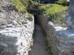 WW1 trenches on the Isonzo front