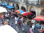 the Sunday morning market in Libourne