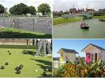 Superb Tennis courts, Boat & Bowling Hire just 5 mins walk away
