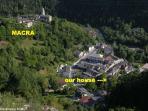 il piccolo villaggio nella selvaggia Valle Macra
