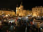 Old Town Square market