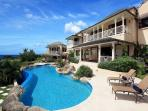 Pool Terrace And Infinity Edge Pool With View Of Guest Cottage