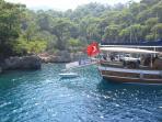 Boat trip in Bodrum