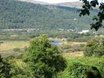 Views of the valley and Conwy river